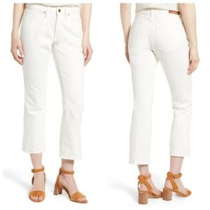 Sezane NWT 1970 The Flared Crop Jeans